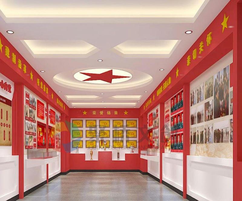 某部队荣誉展厅设计