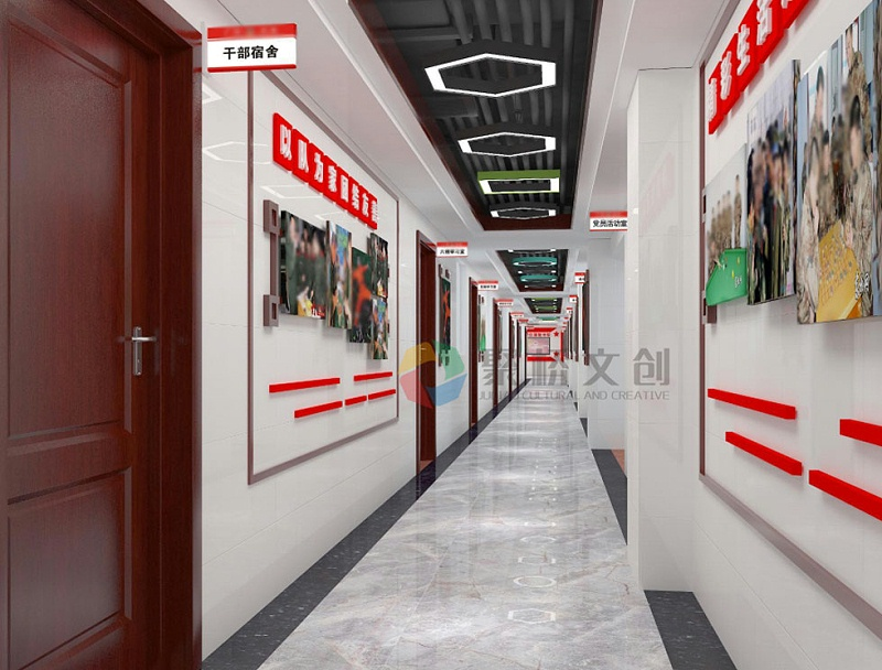 部队楼道走廊文化建设