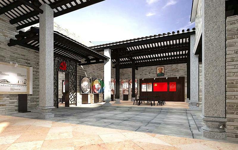 乡村红色主题文化馆建设