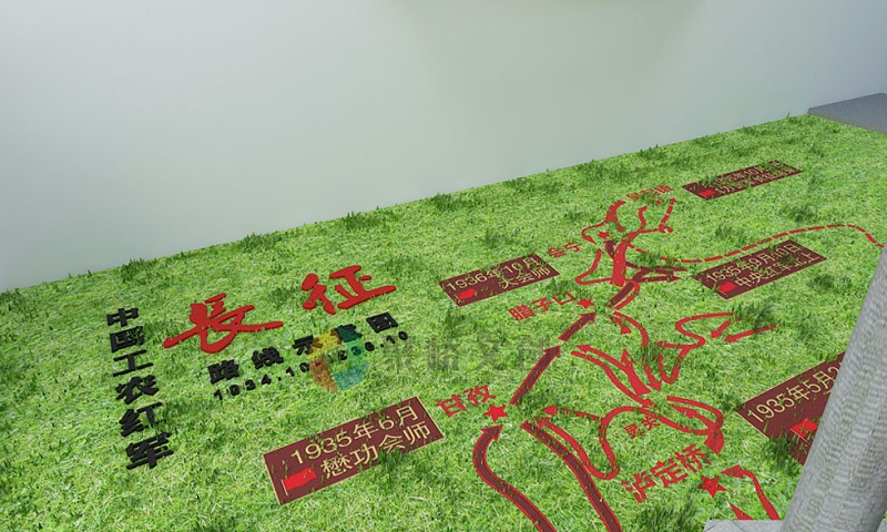 红色主题广场公园建设