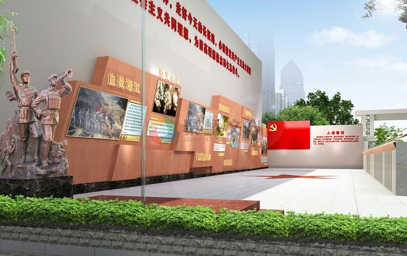 乡村红色文化广场建设