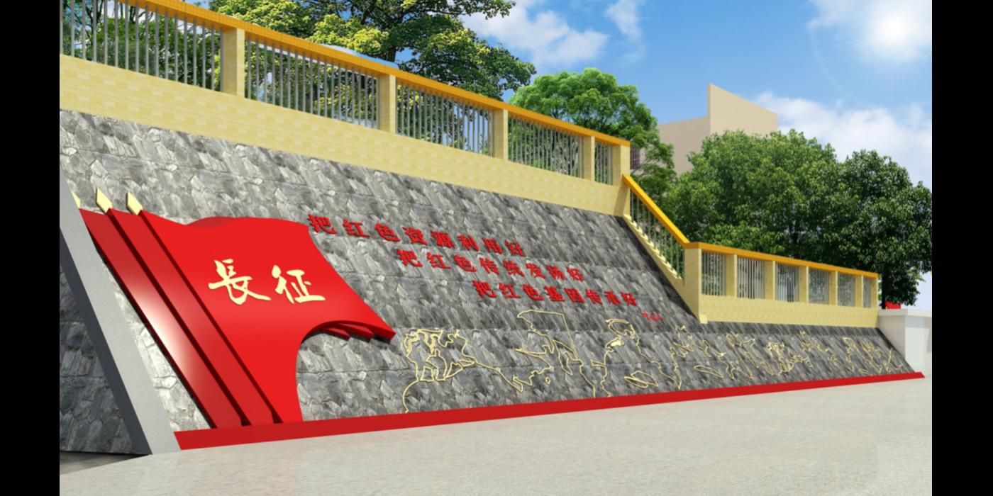 聚桥文创乡村红色文化建设案例