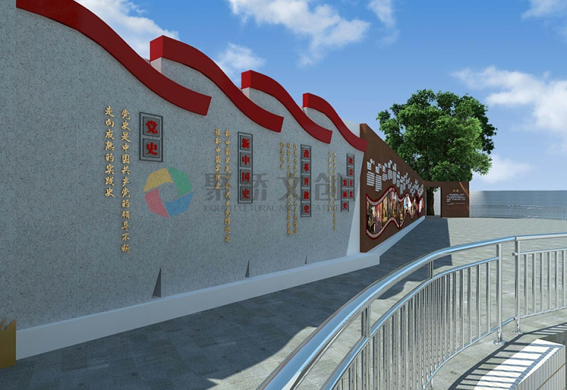 街区党史、新中国史红色文化设计