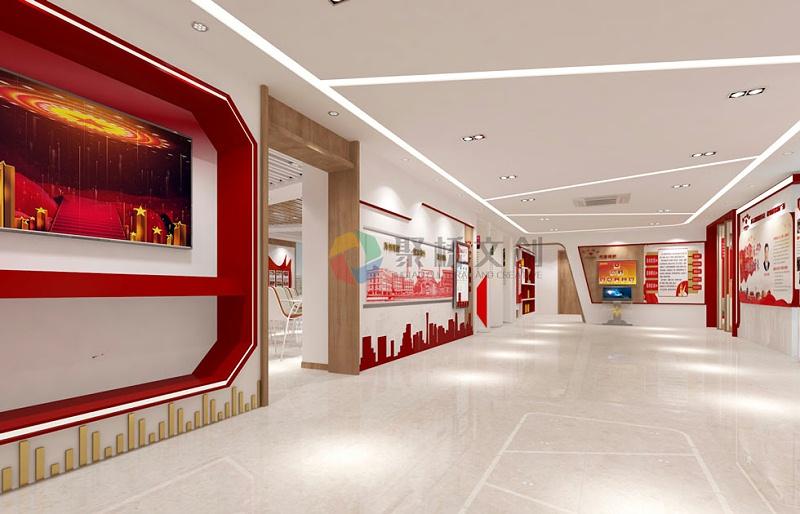 国企党建展厅VR科技化设计