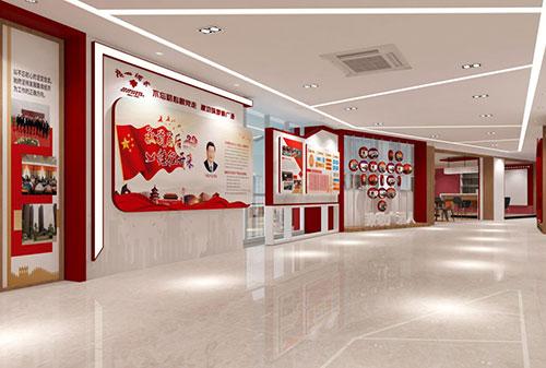 红色精神如何通过党建文化展厅设计传承?聚桥文创为您解密