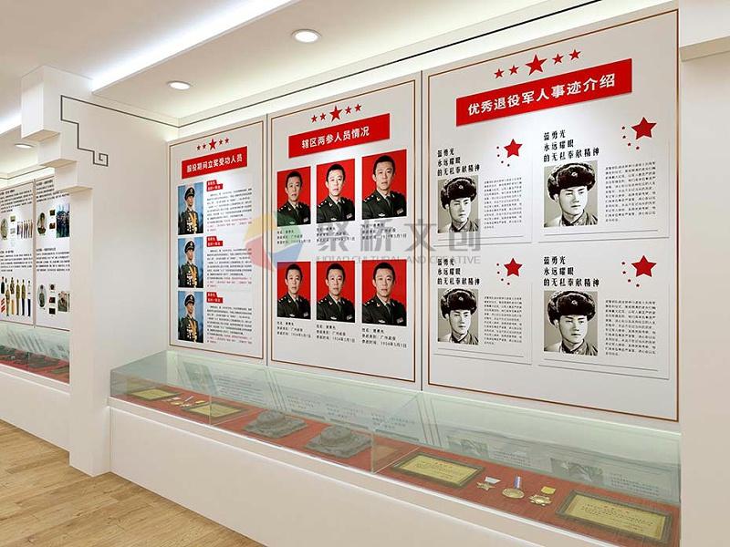 退役军人纪念展品展示