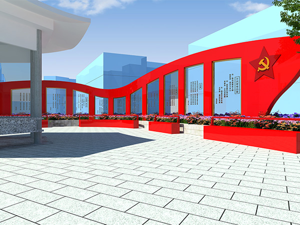 红色主题文化建设