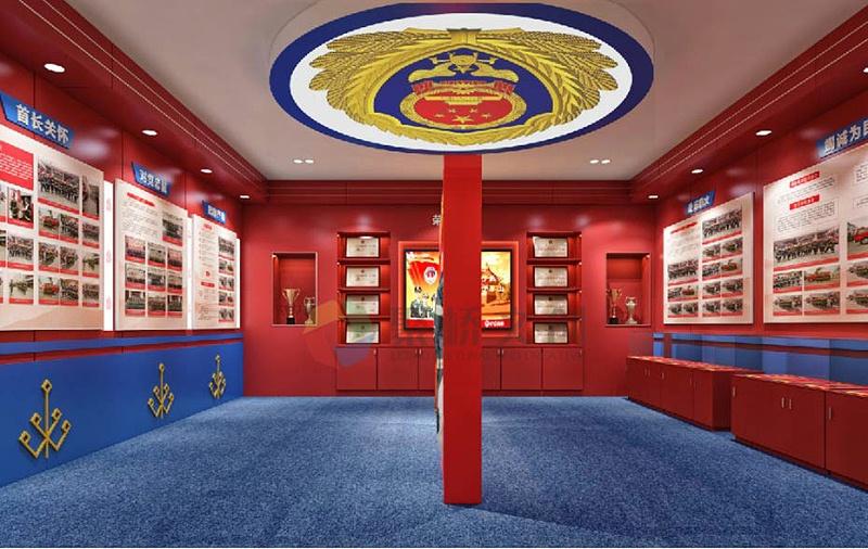 消防展厅荣誉设计