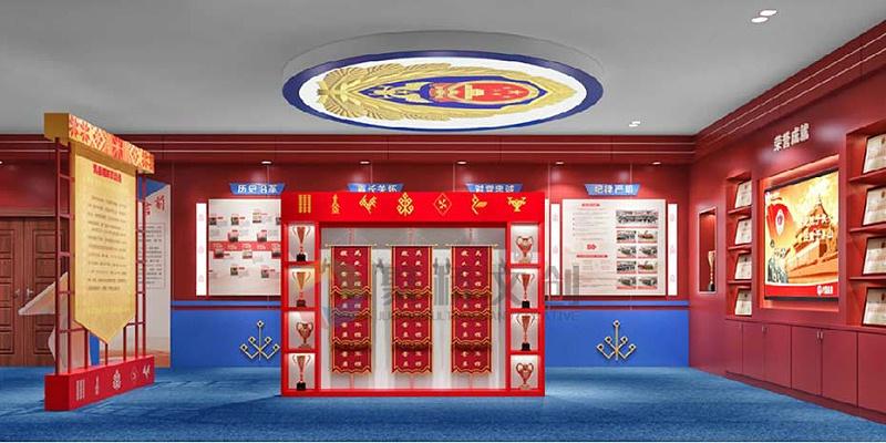 消防展厅特色设计